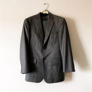 PRONTO OUMO COUTURE grey dress suit